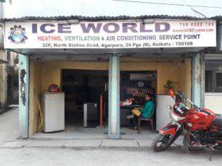 Ice World Service point ,( Heating, ventilation, air conditioning) Agarpara