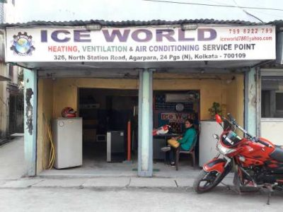 Ice World Service point ,( Heating, ventilation, air conditioning) Agarpara
