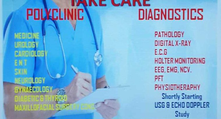 Take Care Diagnostics and Polyclinic Health and Fitness