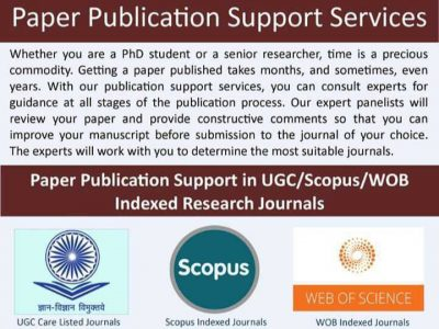 JOURNAL PUBLICATION (SCOPUS, UGC CARE, WEB OF SCIENCE) Whatsapp: +91-801723-3839