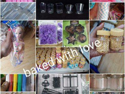 Baked with love (cake rawmetirial)