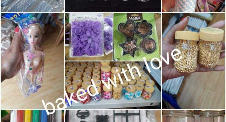 Baked with love (cake rawmetirial)
