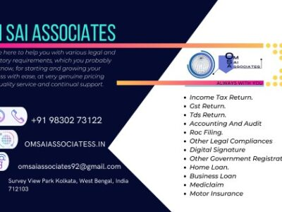 Om Sai Associate – Gst Registration and Return