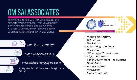 Om Sai Associate – Gst Registration and Return